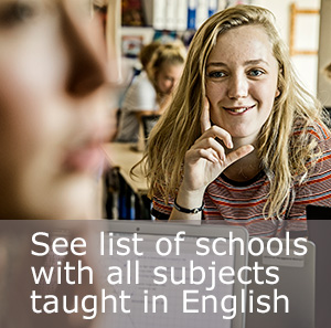 Schools with all subjects taught in English