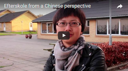 Efterskole -  a Chinese perspective